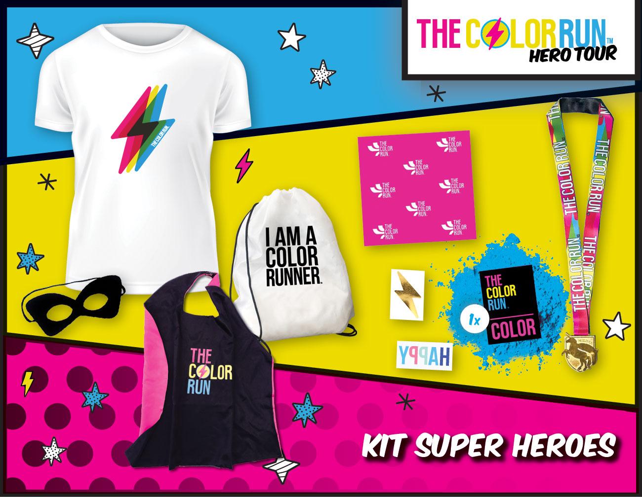 super heroes Participant Kit